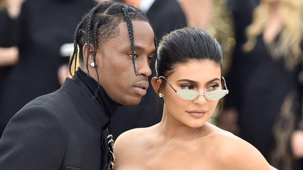 Jenner y Travis Scott